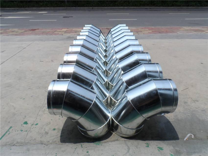 不锈钢螺旋风管和共板法兰风管的区别?